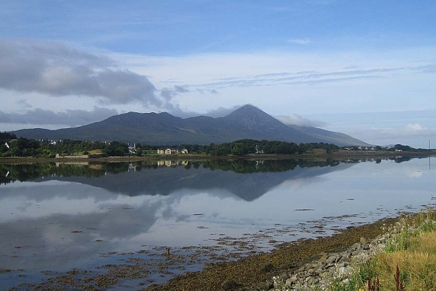 Der Croagh Patrick thront über Westport