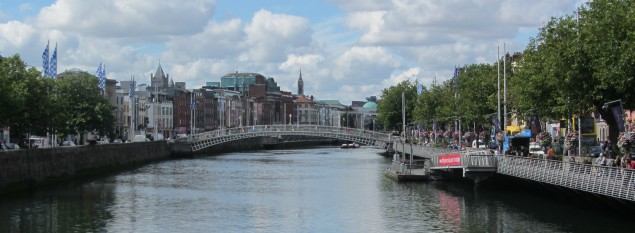 Ha'penny Bridge Dublin