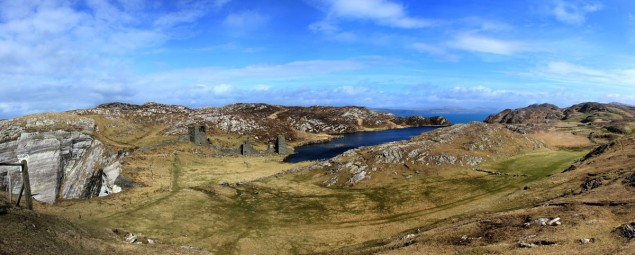 Foto_Wandern_Irland_2014_Pano_Three-Castle-Head_2014-04