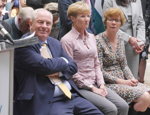 Minister Michael Ring, Claire Bryce, Marianne (Bryce)_P1090502