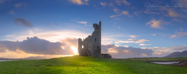 Ballycarbery Castle, Cahersiveen, Co. Kerry, Irland